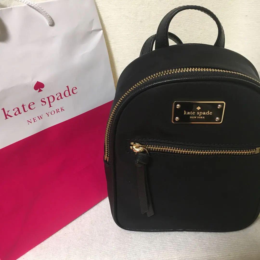 b617b19fc6d0 メルカリ - 【今週限定価格 】Kate Spade 新品 リュック ケイトスペード ...