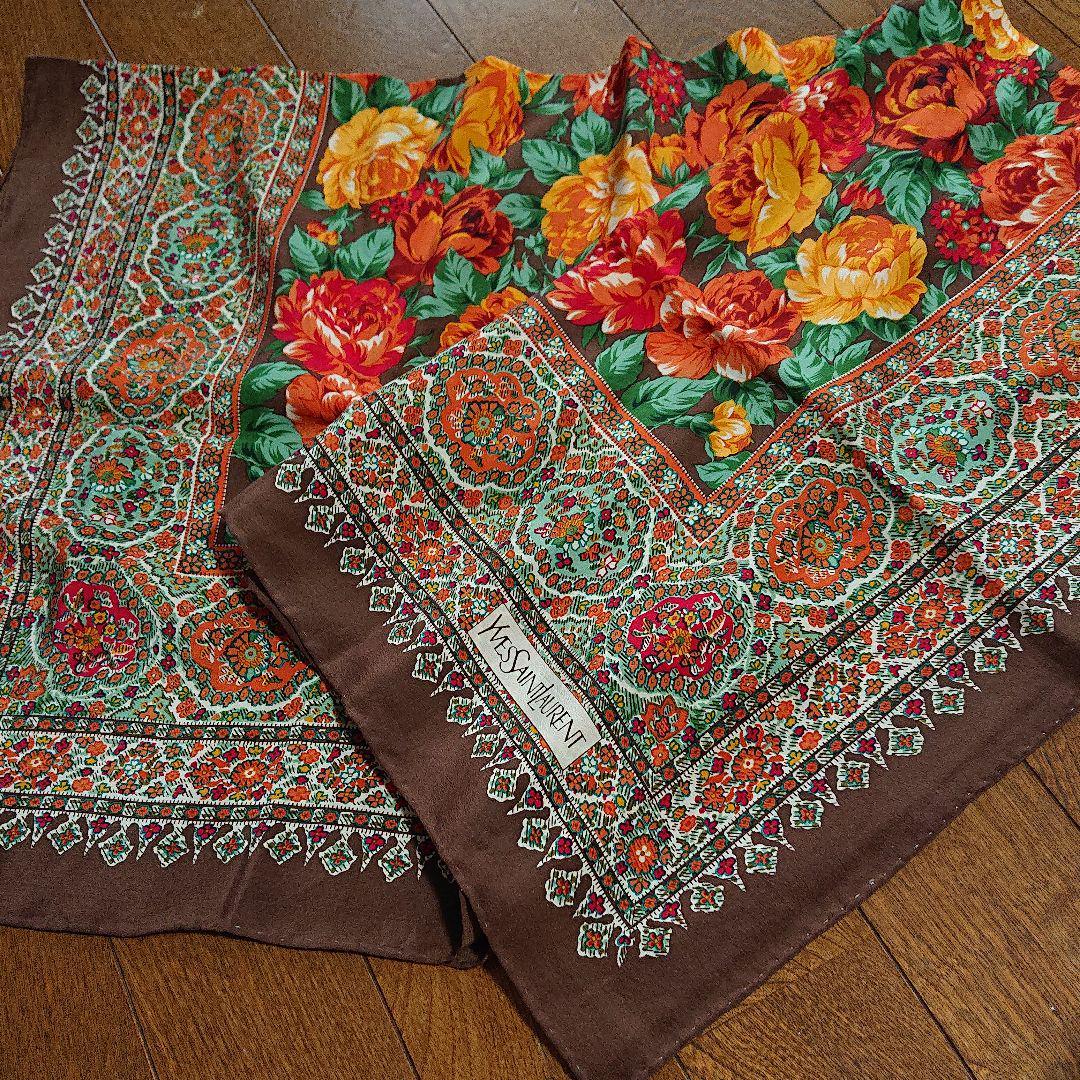 18390910e93c メルカリ - YVES SAINT LAURENTスカーフ 【バンダナ/スカーフ】 (¥500 ...