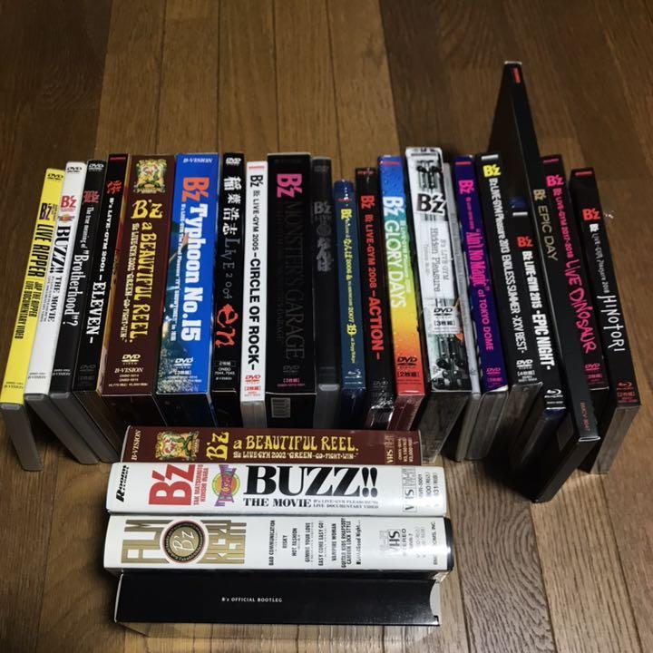 メルカリ - 【美品 分け売り可】B'z 映像作品31枚 18作セット セット ...