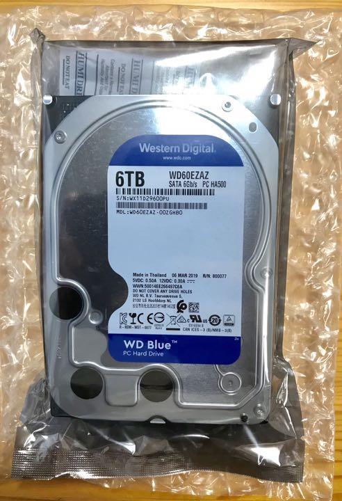 Western Digital WD60EZAZ-RT WD Blue 6TB