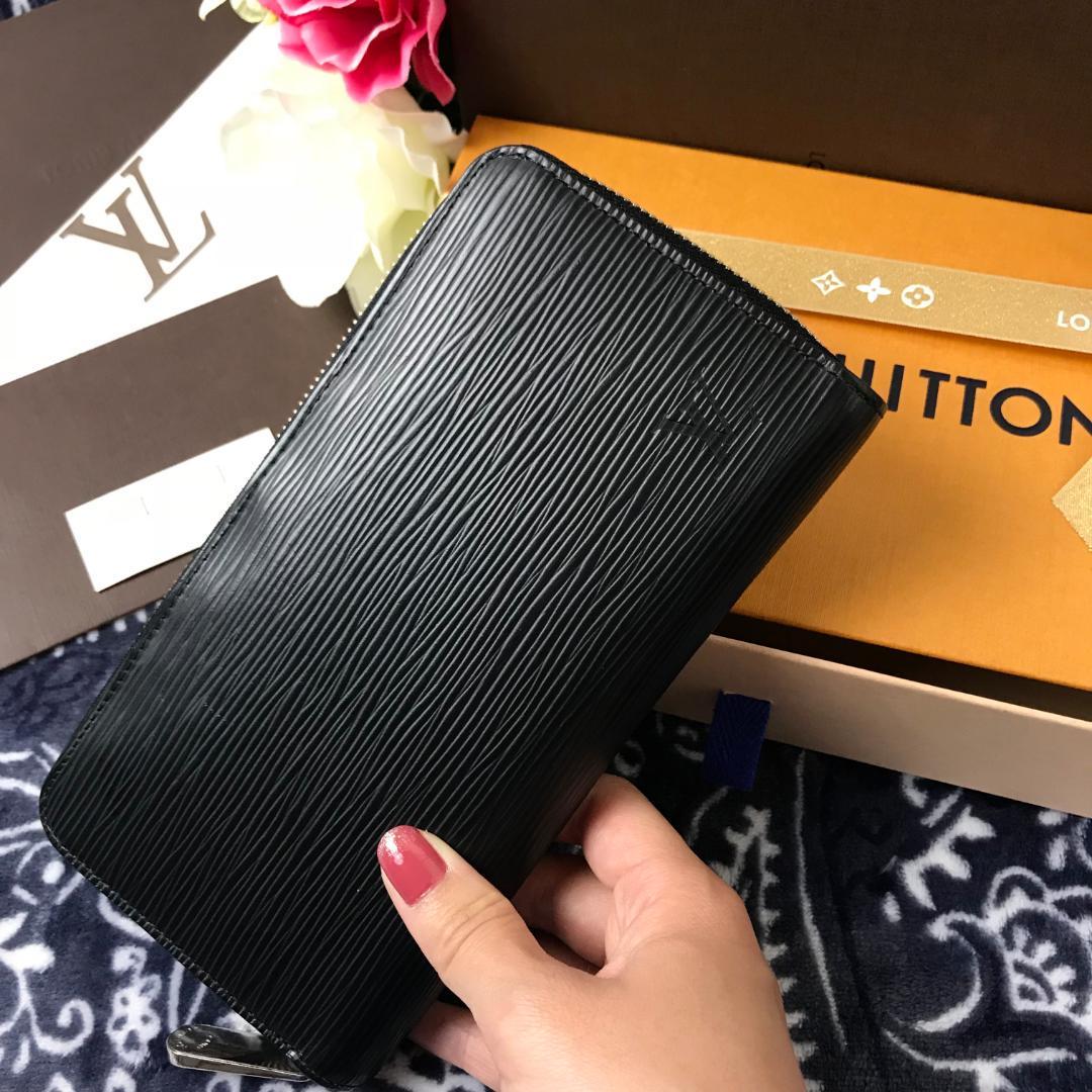 release date: 81298 7c2bf 交渉ok❤超極美品❤ ルイヴィトン エピ 長財布 ブラック ジッピーウォレット(¥50,000) - メルカリ スマホでかんたん フリマアプリ