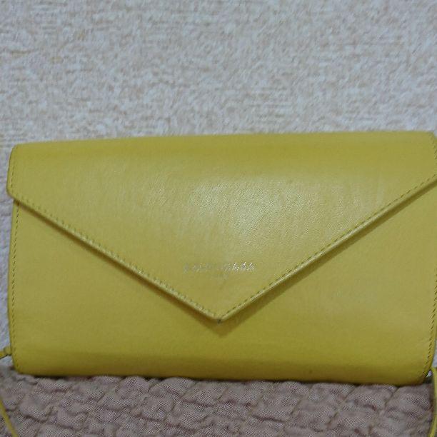 wholesale dealer 2dec9 fe021 BALENCIAGA 長財布 ウォレット 黄色(¥4,500) - メルカリ スマホでかんたん フリマアプリ