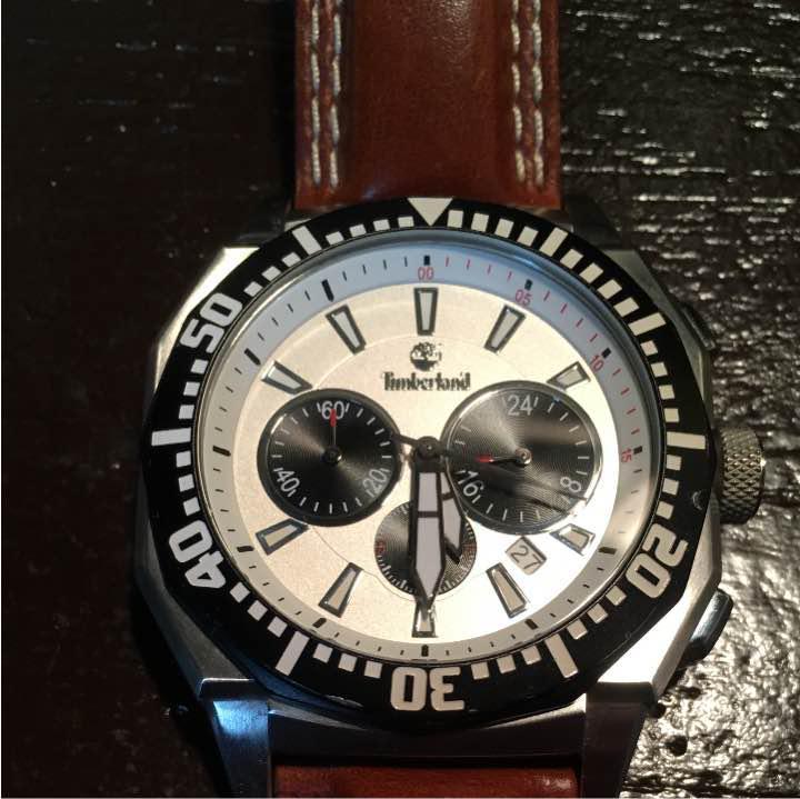 official photos 794d7 342fb ティンバーランド 腕時計 革ベルト(¥4,900) - メルカリ スマホでかんたん フリマアプリ
