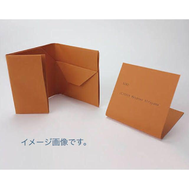 sale retailer 9321a 9f301 紙財布 masanao hirayama/paper wallet/orange(¥900) - メルカリ スマホでかんたん フリマアプリ