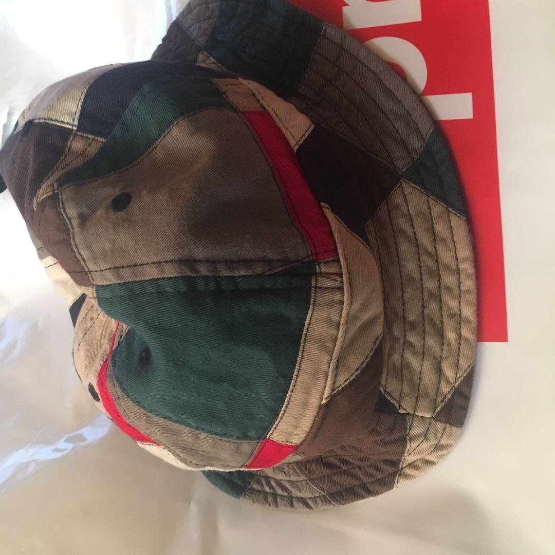 43e2c601 メルカリ - supreme patchwork bell hat ハット マルチカラー ...