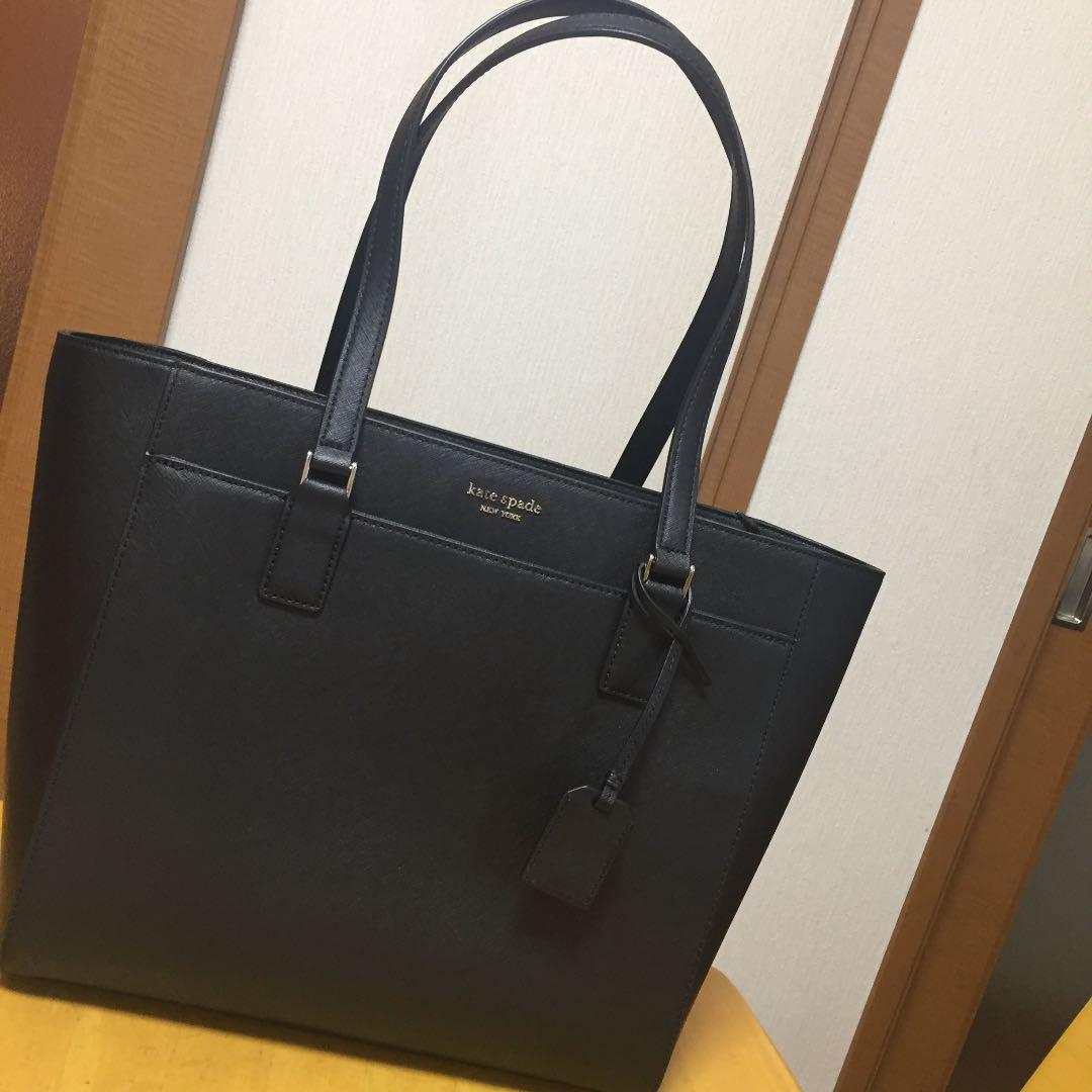 Auth Mint Kate Spade Black Tote Bag Ebay