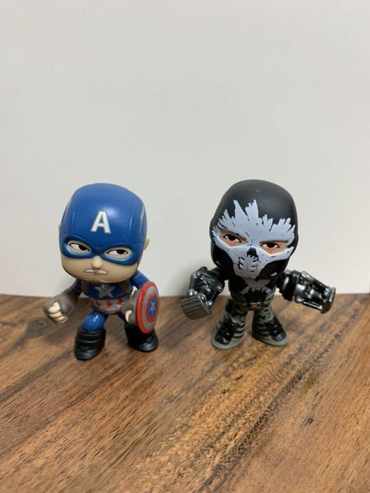 Captain America 3 Civil War Mystery Minis Vinyl Figures War Machine