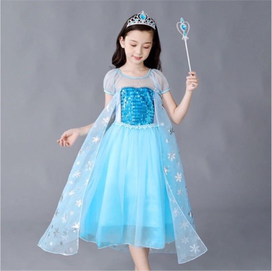 エルサ ドレス プリンセスドレス アナ雪(¥2,180) , メルカリ スマホでかんたん フリマアプリ