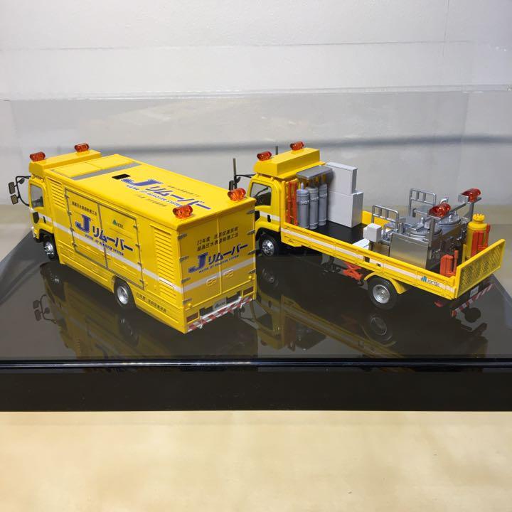 メルカリ - キクテック 50周年記念 1/43スケール模型 道路工事車両 J ...