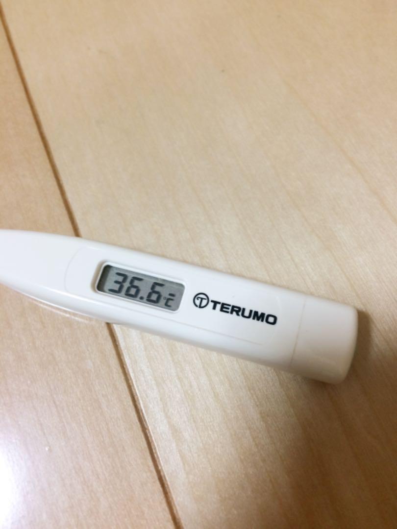C203 体温計 テルモ 電子