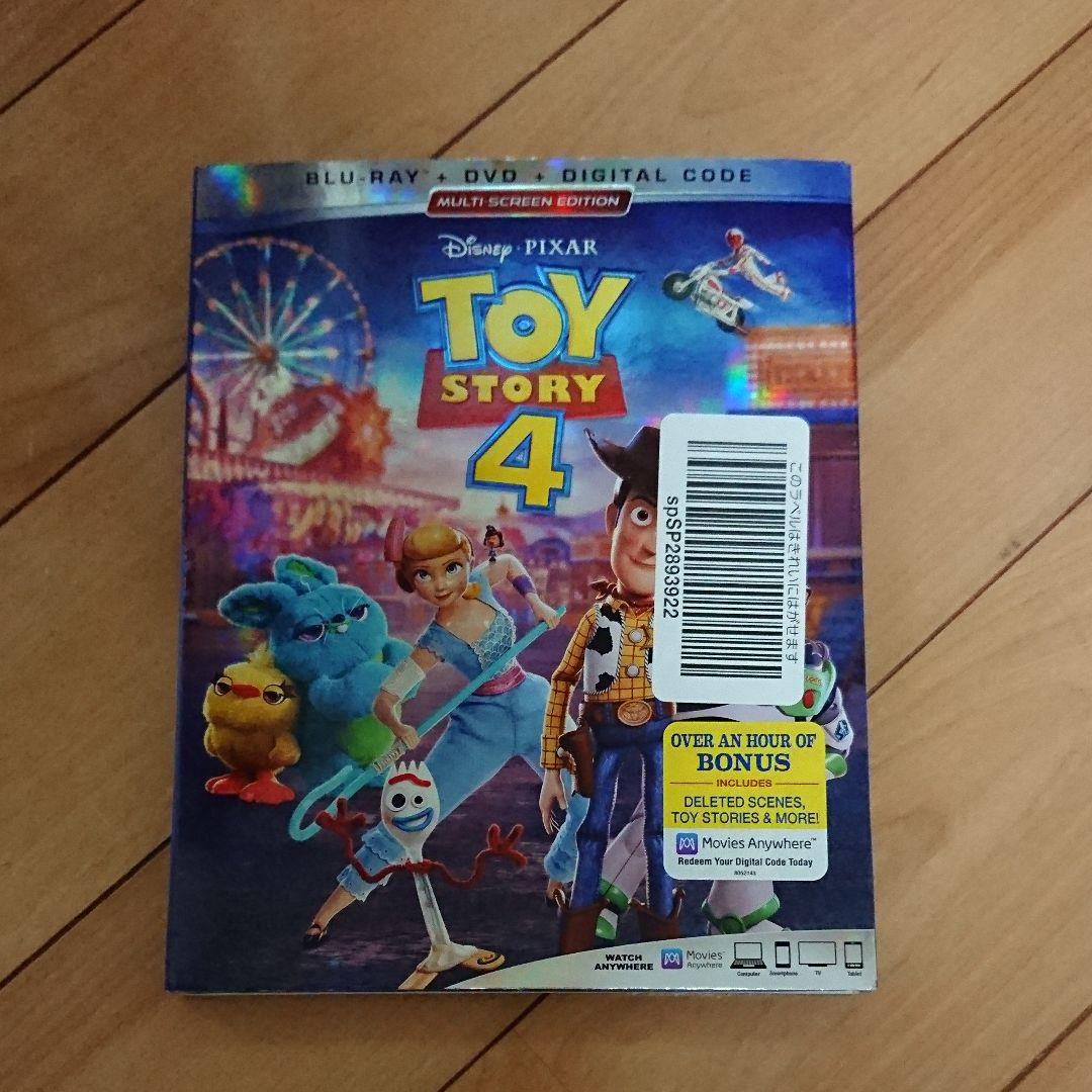 4 dvd ストーリー ラベル トイ