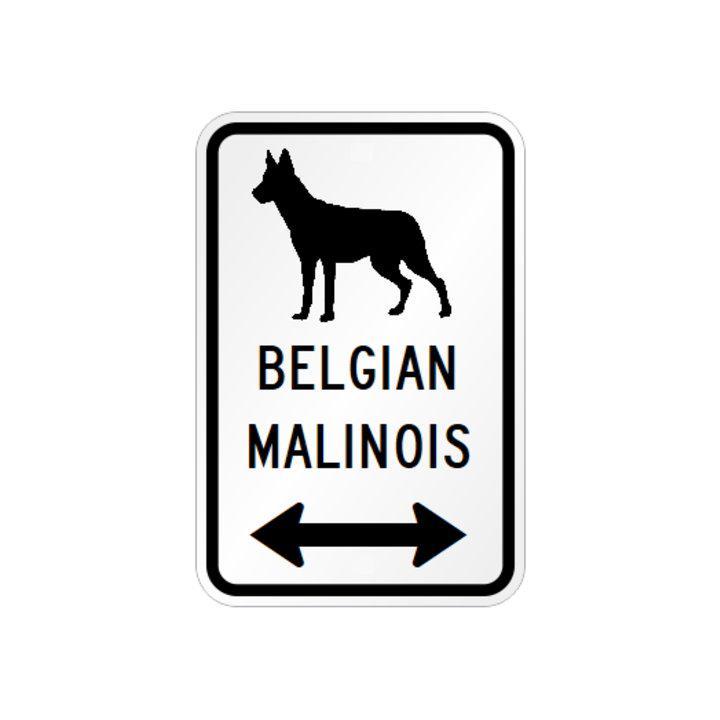 メルカリ ベルジアンマリノア イラスト 矢印 マグネットサイン ホワイト 犬用品 1 450 中古や未使用のフリマ