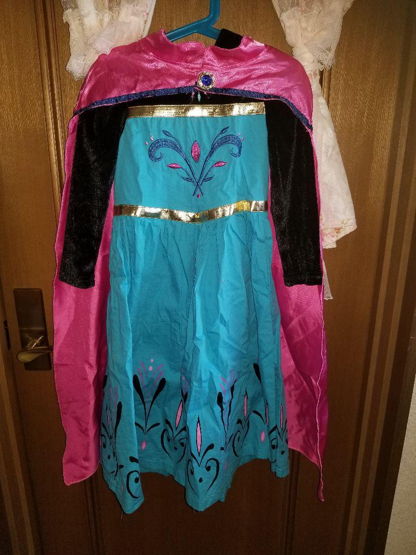 エルサ 戴冠式 ドレス