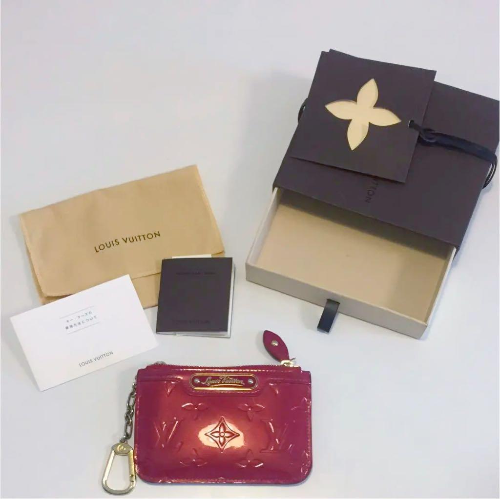 new product aeef1 37e25 ルイヴィトン 財布 コインケース モノグラム ヴェルニ ポシェットクレ(¥8,300) - メルカリ スマホでかんたん フリマアプリ