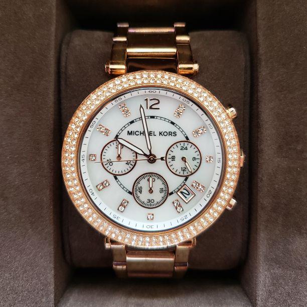 e72ab7af9530 メルカリ - MICHAEL KORS マイケルコース 腕時計 MK5491 【腕時計 ...