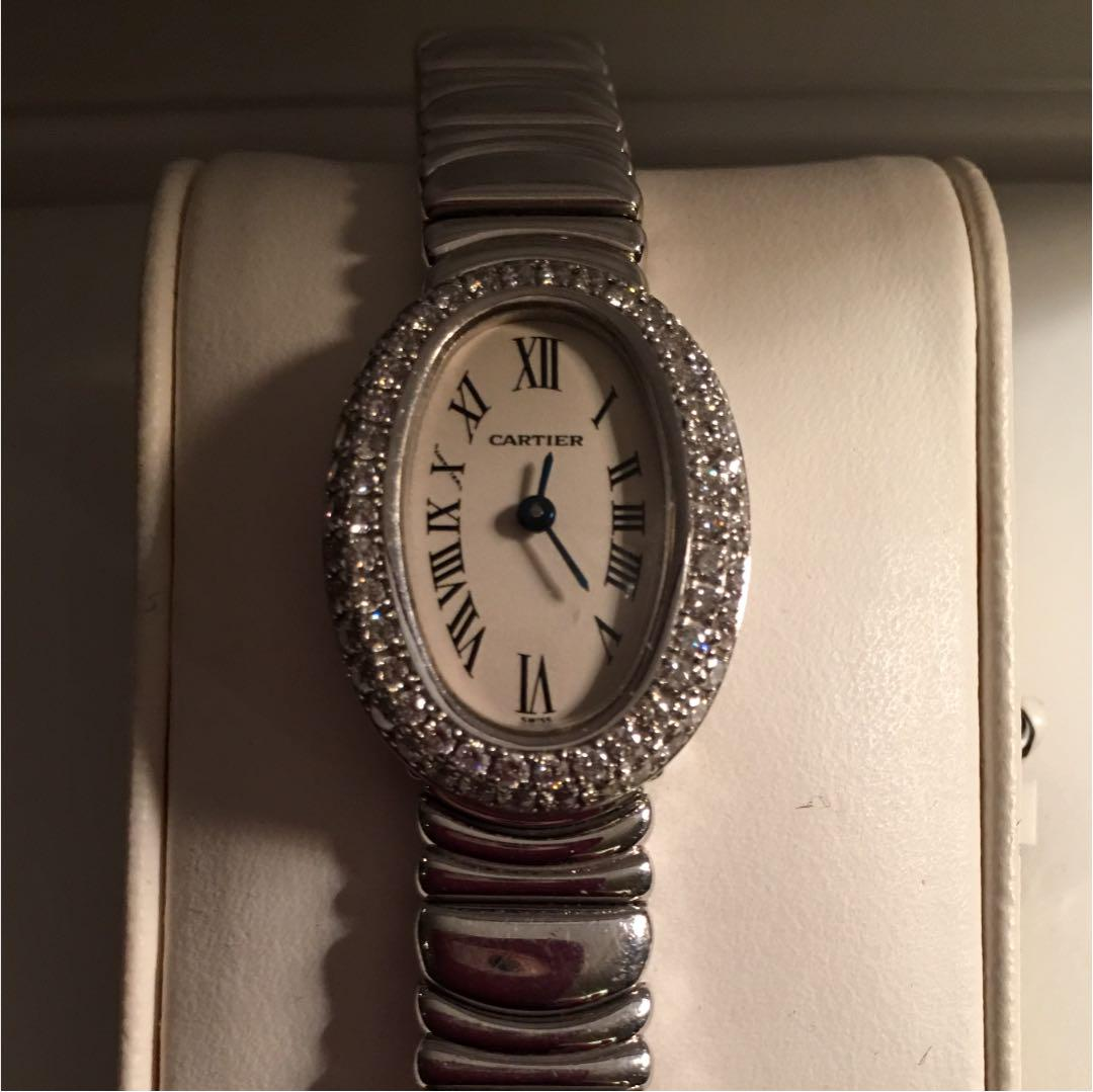new style 8aa13 f2b7e 腕時計カルティエ ミニベニュワール(¥1,400,000) - メルカリ スマホでかんたん フリマアプリ