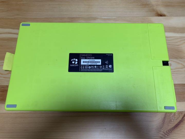 Wacom ワコム ペンタブ Mサイズ Bamboo CTH-670(¥5,000) - メルカリ スマホでかんたん フリマアプリ