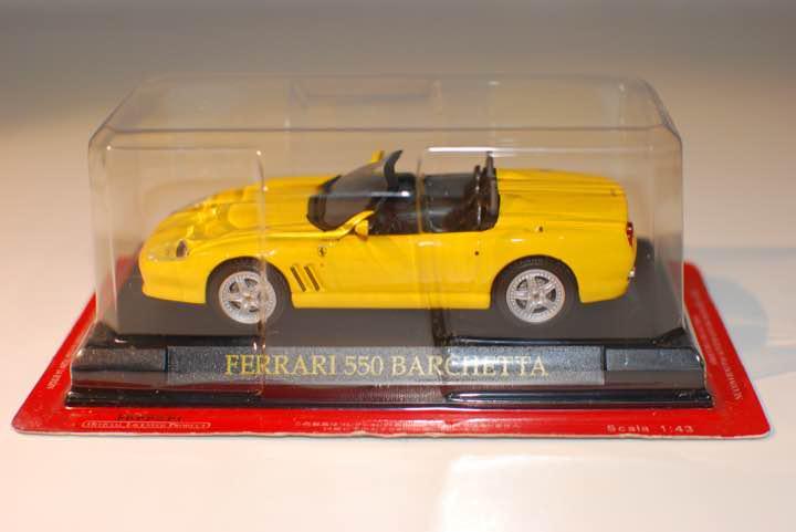 Ferrari Collection 1 43 550Barchetta   nouvelle exclusivité haut de gamme