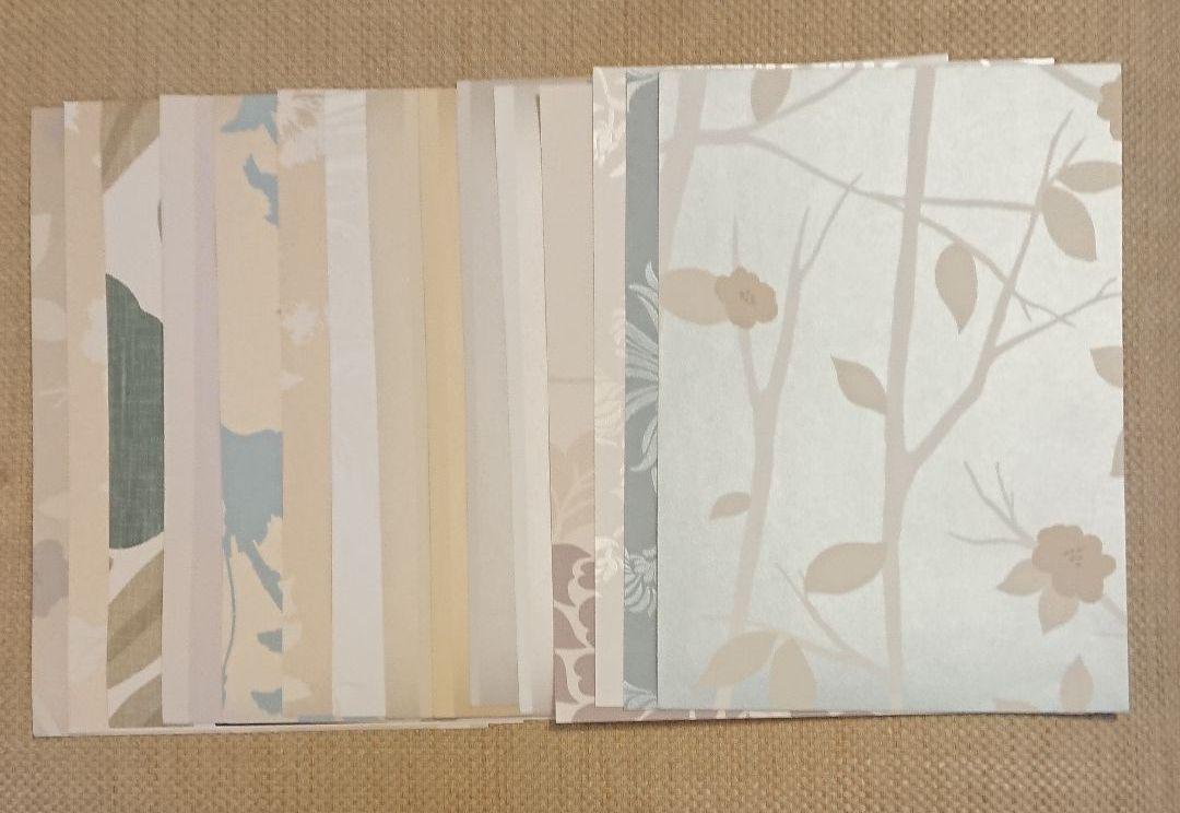 メルカリ ローラアシュレイ 壁紙 サンプル 42枚 インテリア小物