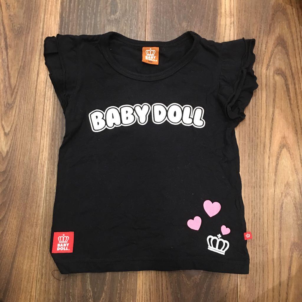 7d24c957b870e メルカリ - ベビードール Tシャツ BABYDOLL 100cm キッズ  トップス(T ...