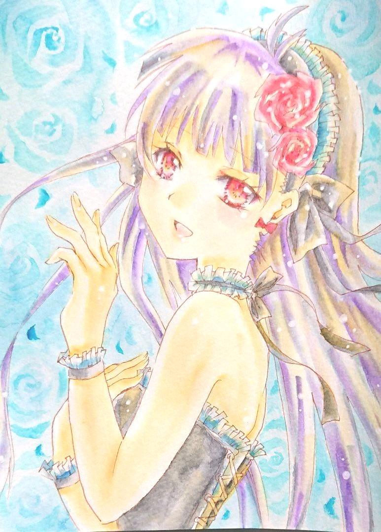 手書きイラスト オリジナル ロリータ女の子2