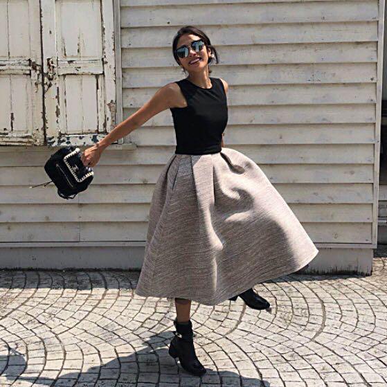 b7843219e9dd7 メルカリ - (新品) birthday bash ♡ クルーネックバルーンドレス M ...