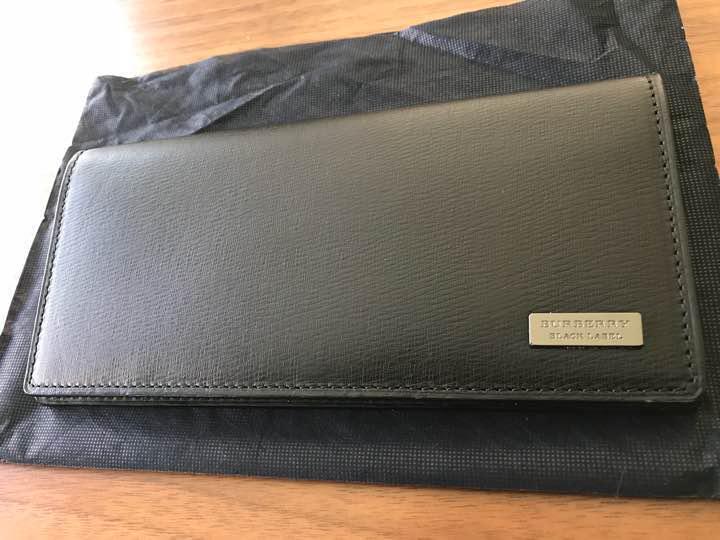 wholesale dealer 88cb4 d6cde バーバリーブラックレーベル 長財布 新品未使用 箱付き タグ付(¥39,000) - メルカリ スマホでかんたん フリマアプリ