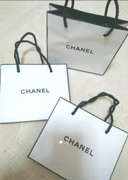 6194eab06b88 メルカリ - CHANEL シャネル 紙袋 ショッパー ミニサイズ 3枚 【ショップ ...