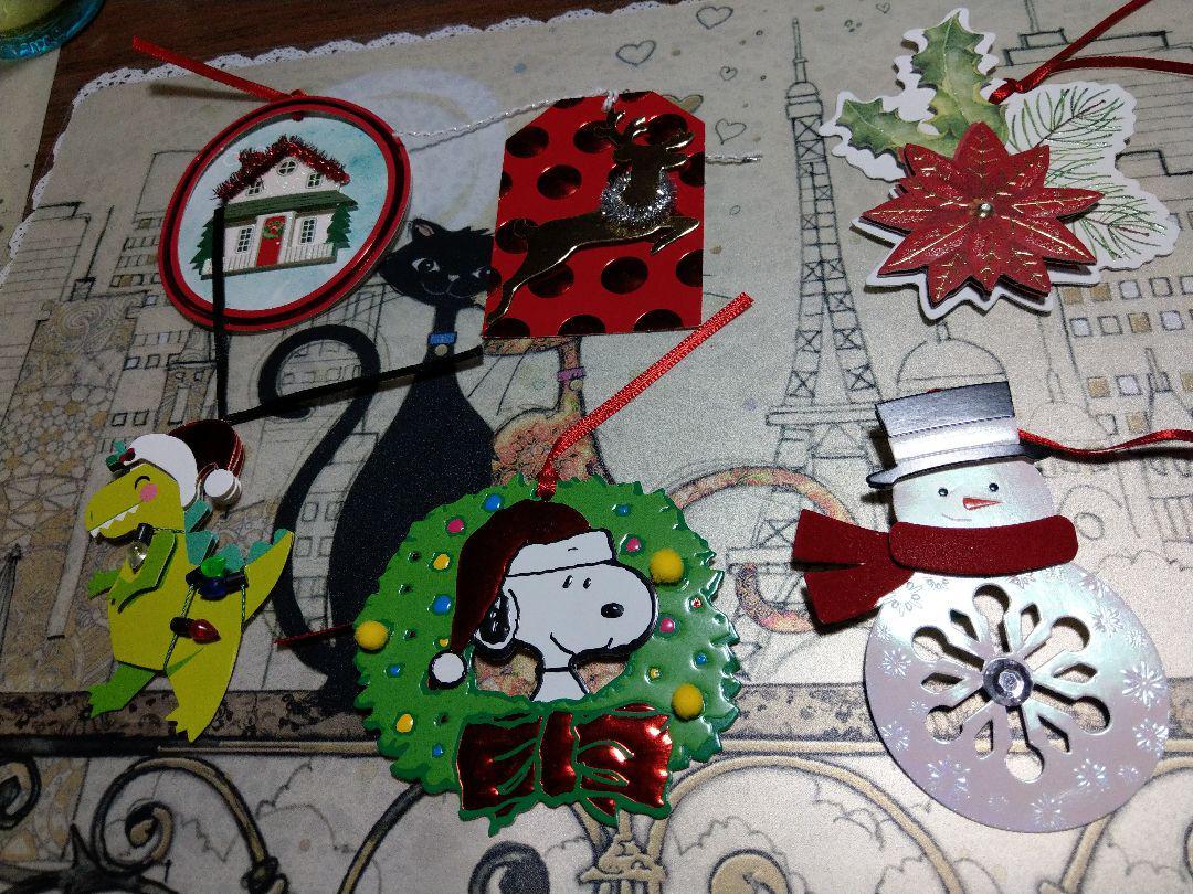 メルカリ クリスマスタグセット15種 アナ雪 スヌーピー 700