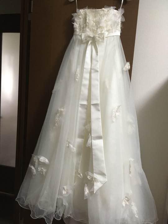 f72e0762766e6 メルカリ - ウェディングドレス(ワタベウェディング エンパイア ...