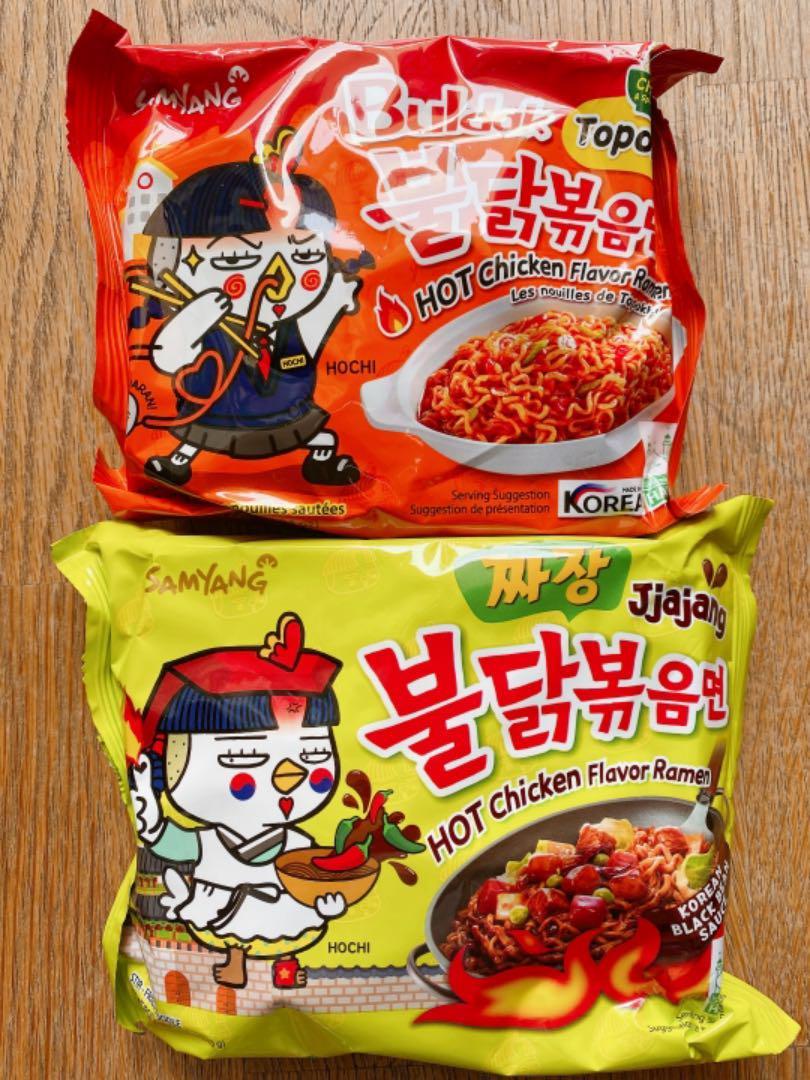 韓国 プルダックポックンミョン