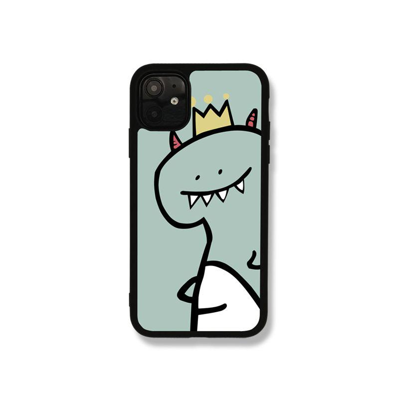 メルカリ Iphonexs ケース おもしろ イラスト 可愛い恐竜 Iphone用ケース 1 480 中古や未使用のフリマ