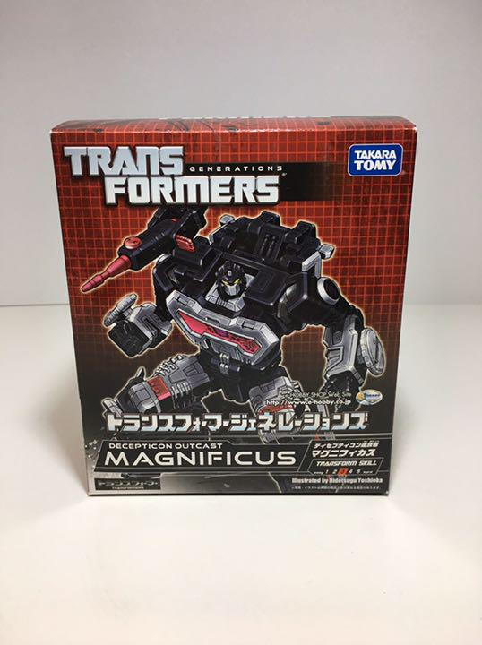 Trans Formers Generations Magnificas Used