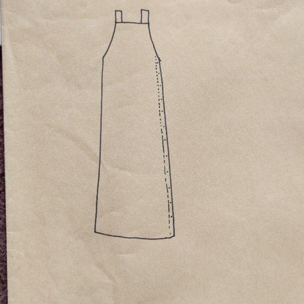 ジャンパー スカート 型紙