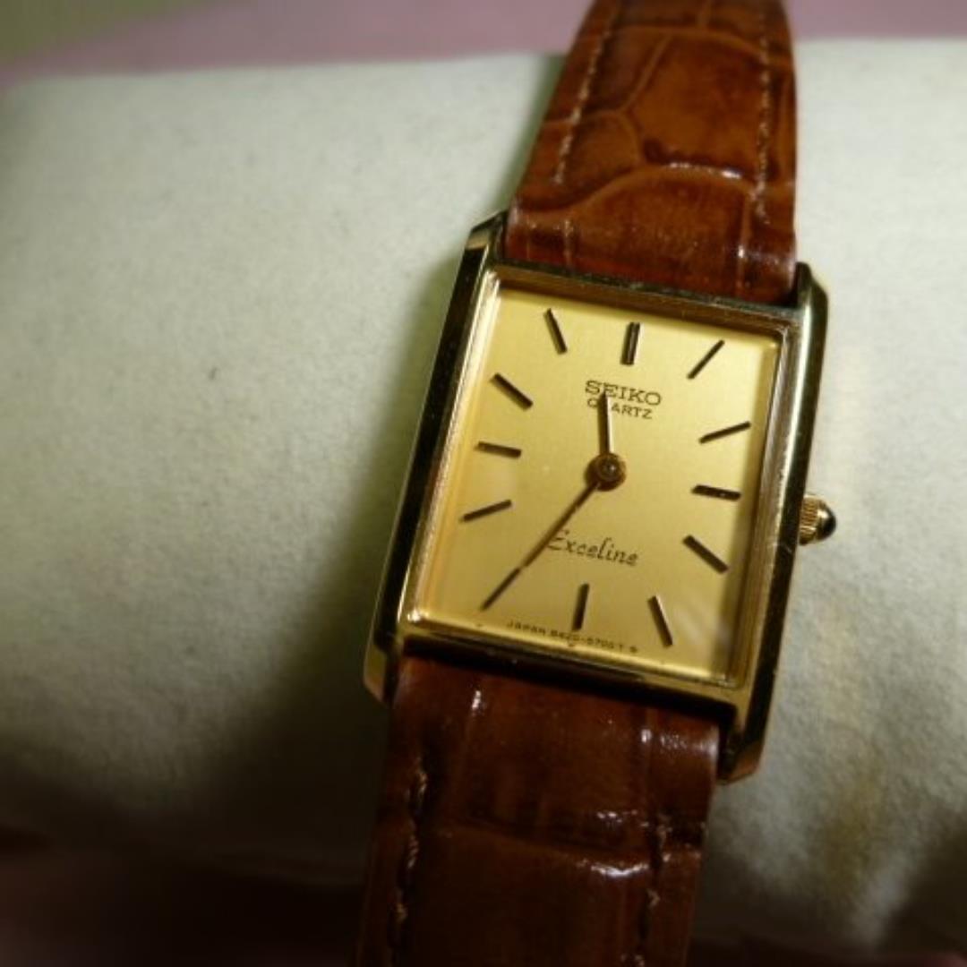 reputable site df733 9e729 SEIKO Exceline セイコー エクセリーヌ レディース腕時計(¥3,000) - メルカリ スマホでかんたん フリマアプリ