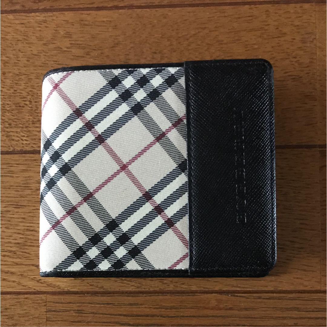 promo code 8e328 b66cb バーバリー メンズ 2つ折り財布(¥15,800) - メルカリ スマホでかんたん フリマアプリ