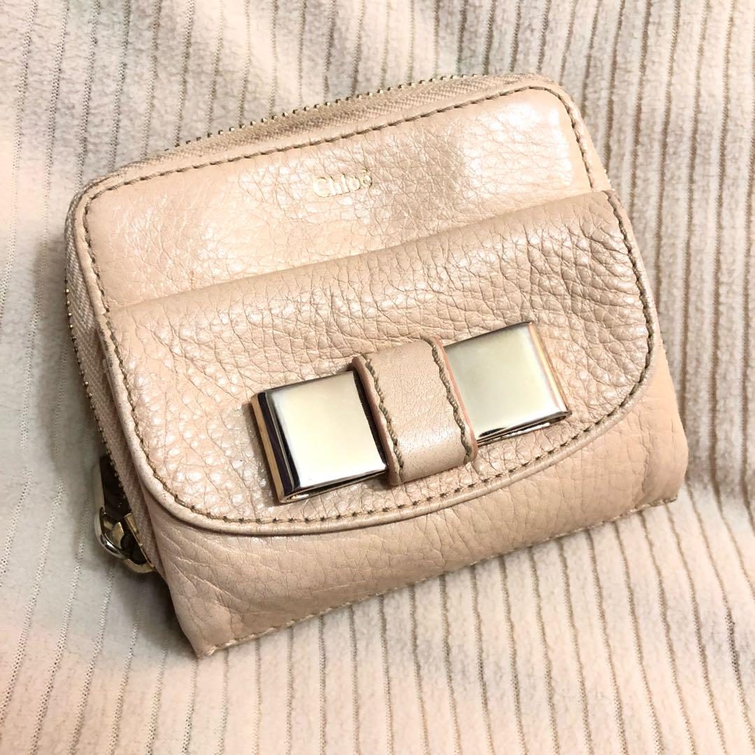 sale retailer e1972 e9b6d クロエ Chloe Lily 財布 折りたたみ(¥ 5,500) - メルカリ スマホでかんたん フリマアプリ
