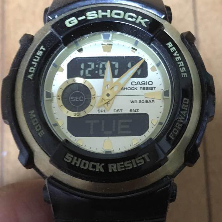 the latest 60ec1 d7f7d G-SHOCK SHOCK RESIST ゴールド×ブラック(¥6,000) - メルカリ スマホでかんたん フリマアプリ