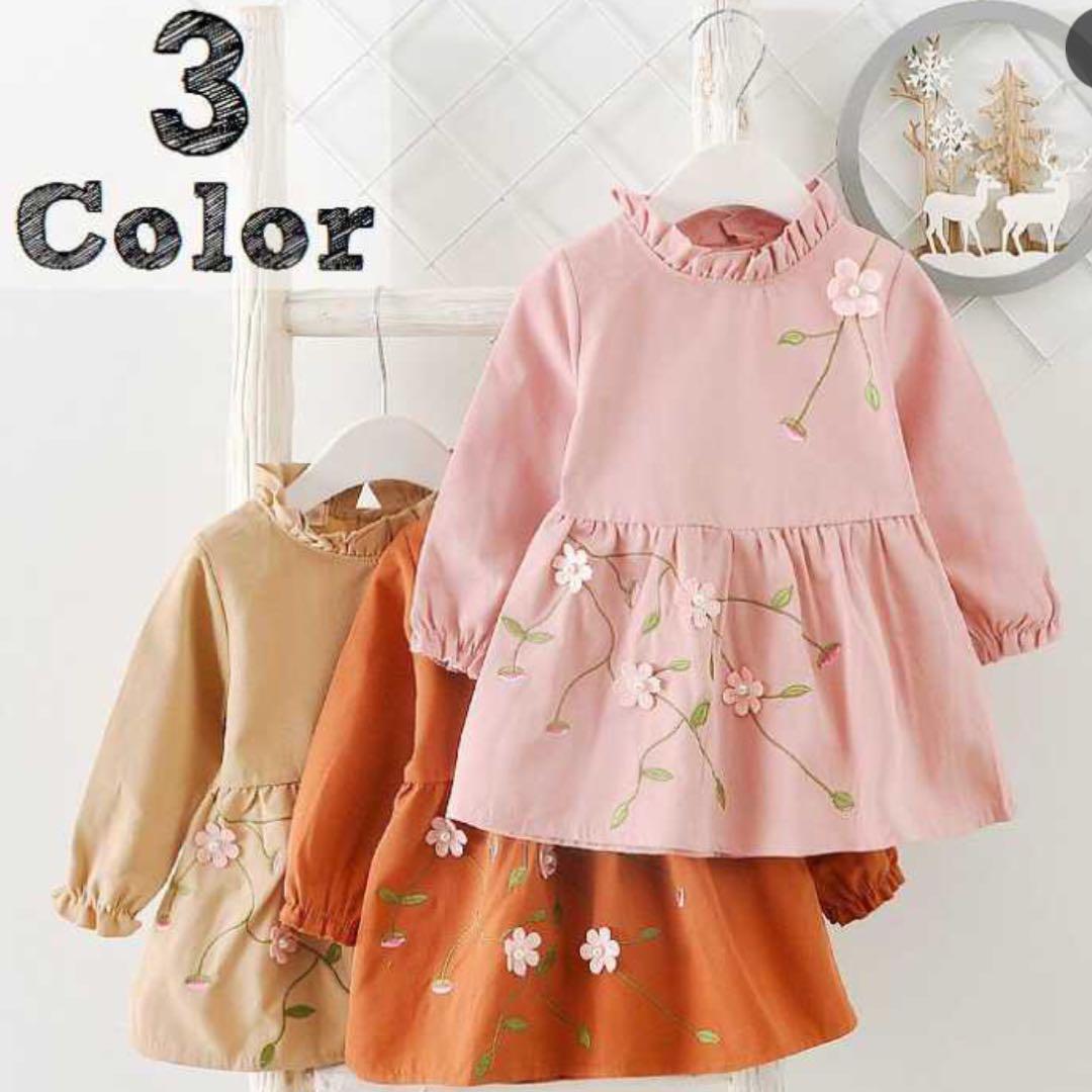 f871cbe143826 メルカリ - 海外子供服 花柄 リボン ワンピース (¥899) 中古や未使用のフリマ