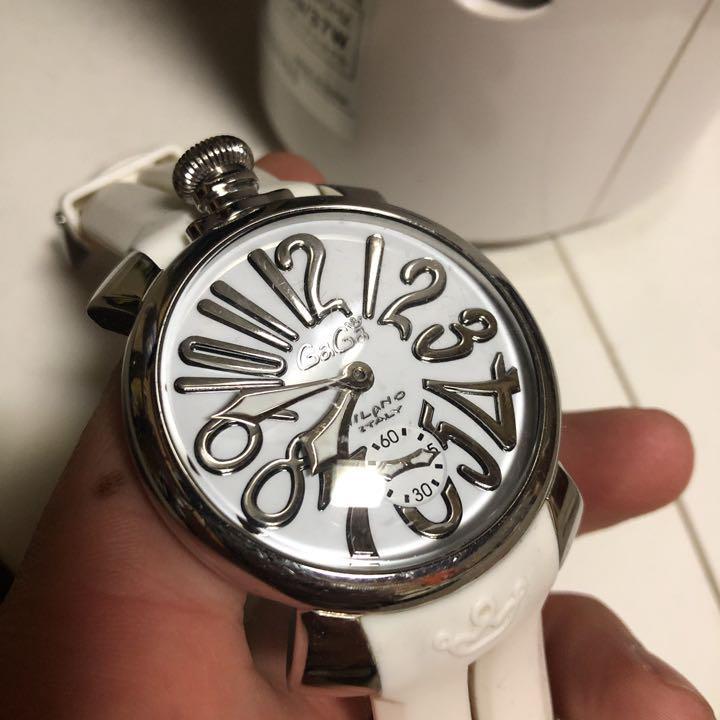 on sale 9cbd9 92518 ガガミラノ 時計 手巻き 値下げ6月13日まで(¥22,000) - メルカリ スマホでかんたん フリマアプリ