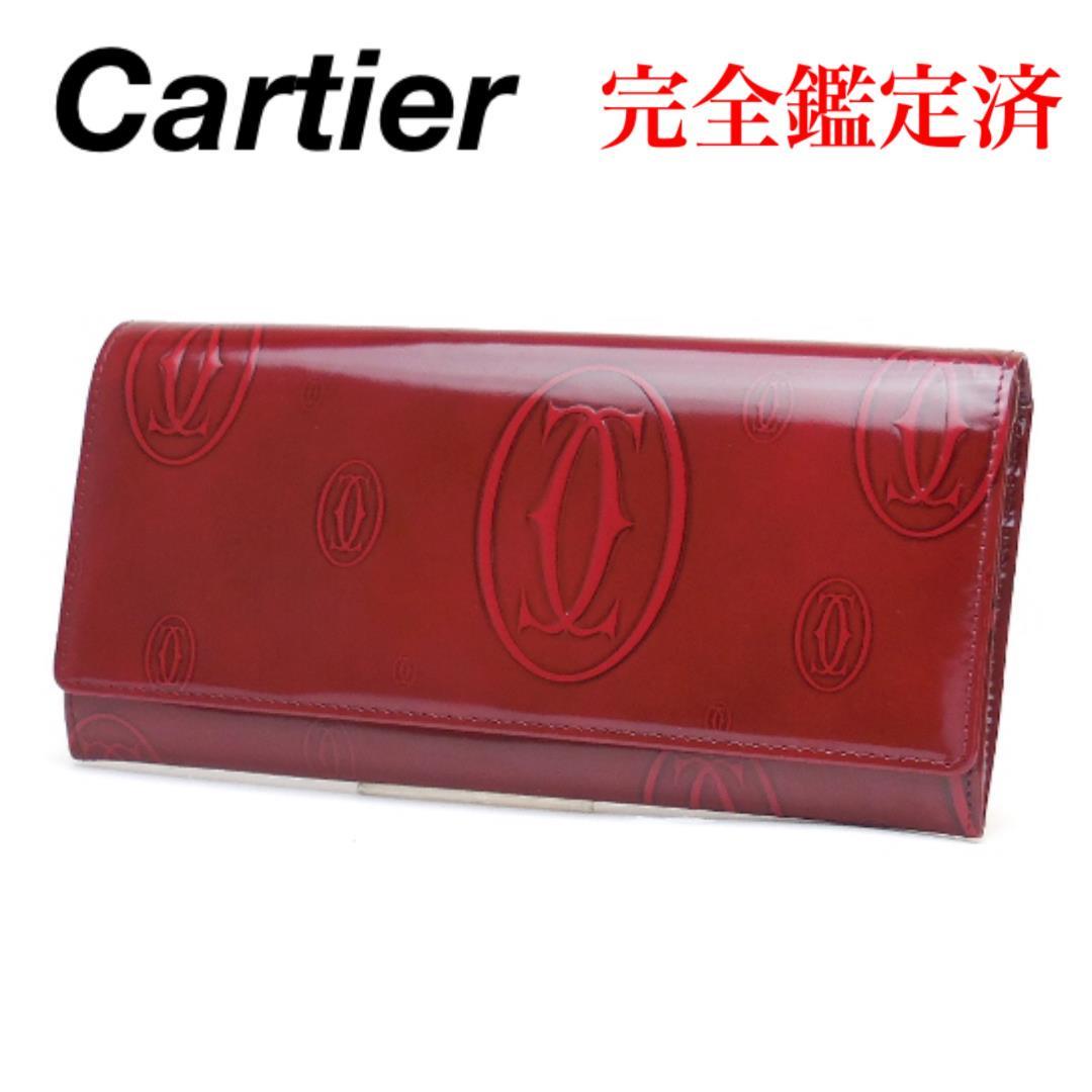 new style cf1db de292 Cartier カルティエ ハッピーバースデー 二つ折り 長財布(¥18,800) - メルカリ スマホでかんたん フリマアプリ