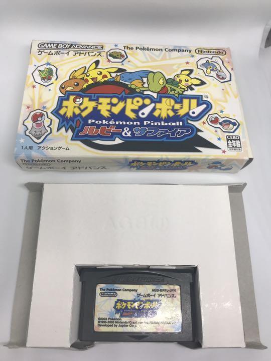 ポケモンピンボール ルビー\u0026サファイア(電池不要後期版)(¥3,500) , メルカリ スマホでかんたん フリマアプリ