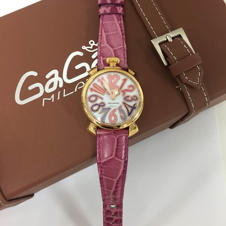 new style f2dfb 47c00 ガガミラノレディース時計(¥67,000) - メルカリ スマホでかんたん フリマアプリ
