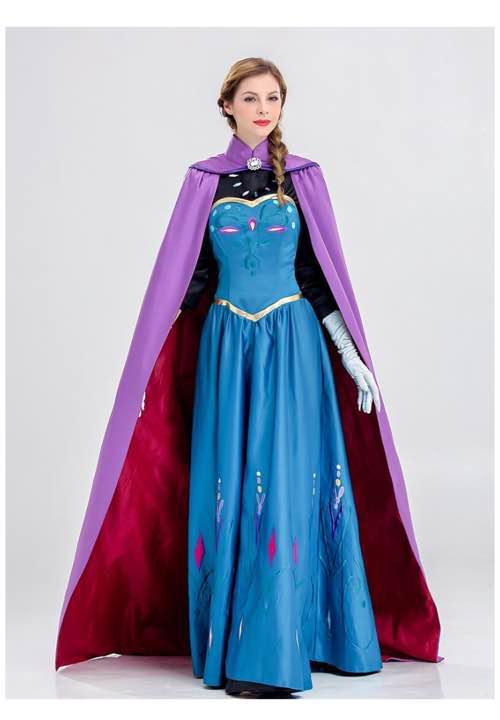 エルサ戴冠式ドレス