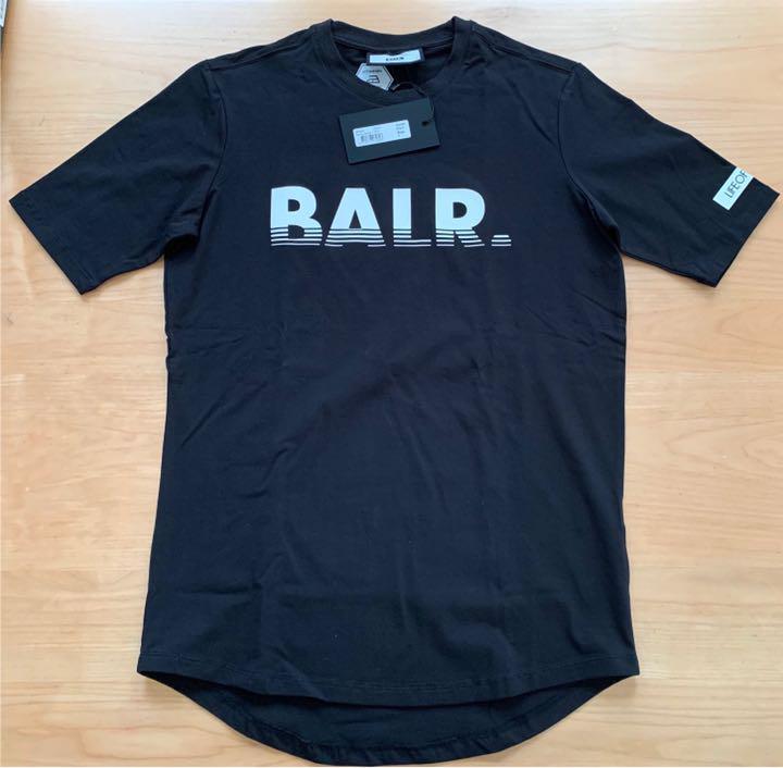 新品★BALR. 完売品★ボーラー メンズ Tシャツ ブラック Sサイズ