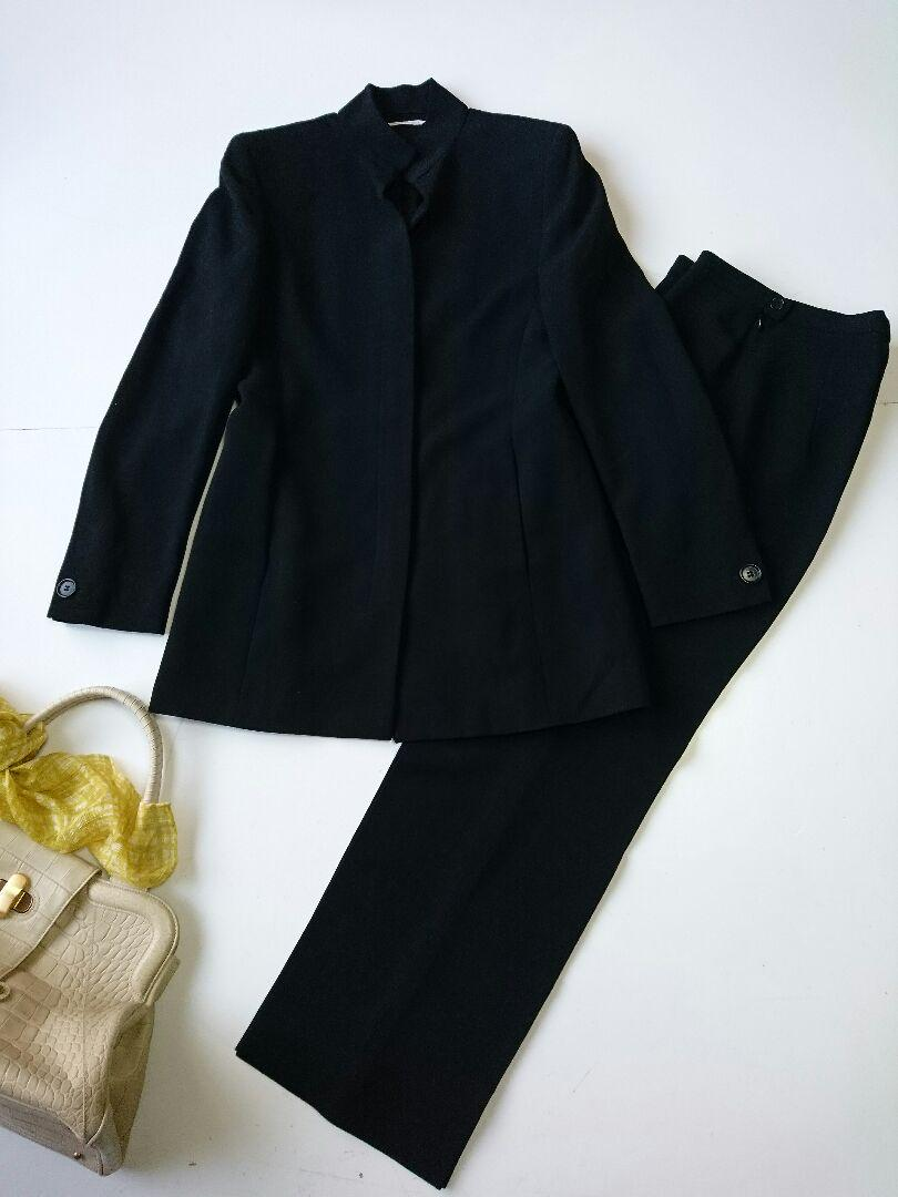8a4945fd8cbd メルカリ - MaxMara 美品 価格20万 上質パンツスーツ グッチ セオリー ...