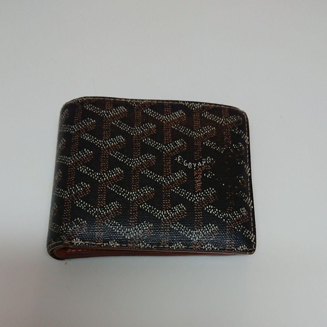 buy online 43063 0f31f ゴヤール GOYARD メンズ 二つ折り財布(¥20,000) - メルカリ スマホでかんたん フリマアプリ