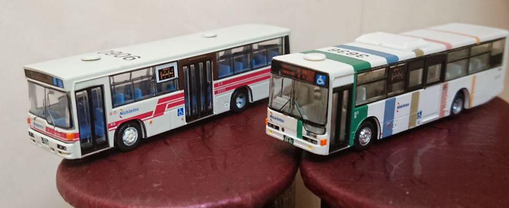 8c221bb28a35c メルカリ - 西鉄バス バス ミニカー 西日本鉄道 福岡 ミニチュア ...