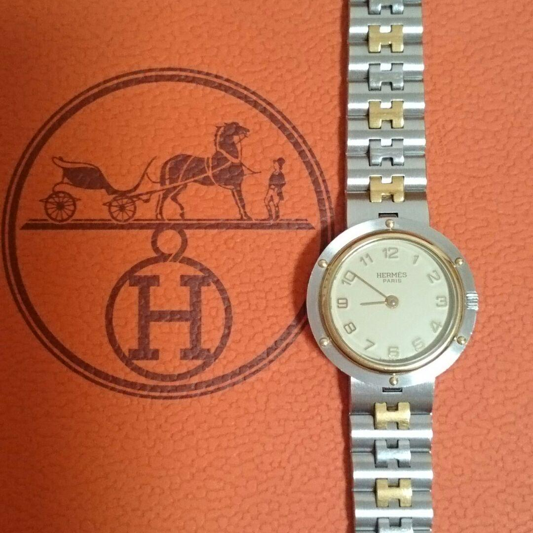 size 40 42678 4568a エルメス時計 クリッパー ✨正規品✨美品✨レディース☺本当に最終お値下げ☺(¥37,000) - メルカリ スマホでかんたん フリマアプリ