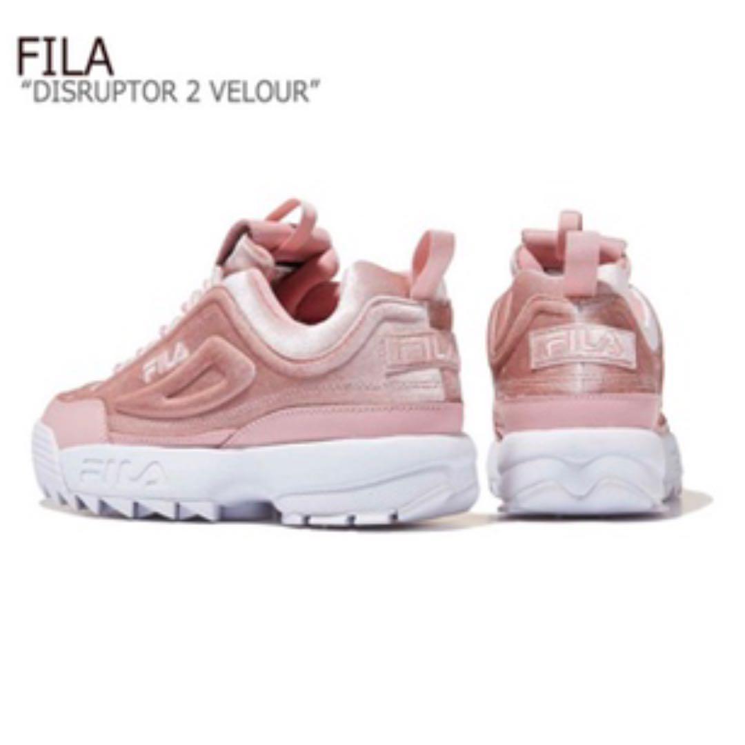 FILA DISRUPTOR 2 Premium Velour 24cm